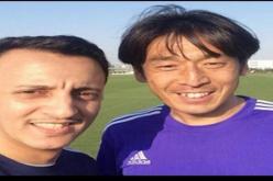صديق نيشيمورا يثير الجدل في مباراة الهلال والوحدة