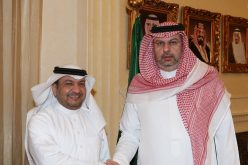 عبدالله بن مساعد يكرم أمين اتحاد القدم