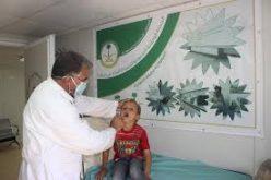 العيادات السعودية تعالج 169 طفلا  سوريا في مخيم الزعتري