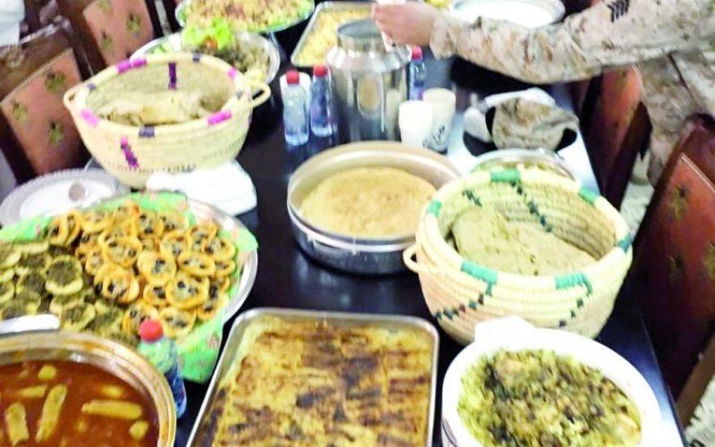 تربوية تقدم احلى مائدة لابطالنا البواسل