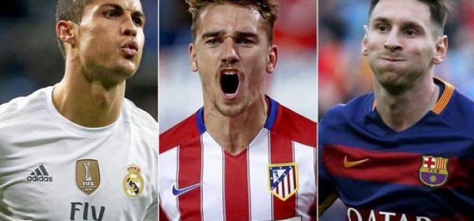 3 يتنافسون على افضل لاعب في العالم