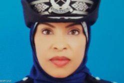 شيخة أول قائدة مركز شرطة عمانية !