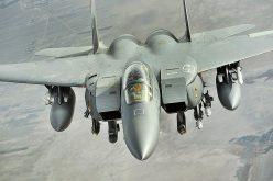 """القوات الجوية الملكية السعودية تدشن مقاتلة """"F.15-SA"""" المتطورة"""