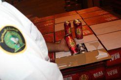 """إحباط تهريب أكثر من 50 ألف علبة """"بيرة بالكحول"""""""