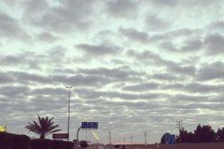 """""""الأرصاد"""": سماء غائمة على تبوك والجوف وحائل والحدود الشمالية"""