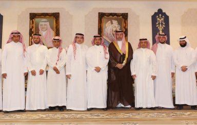 بالصور .. استقبال الأمير عبدالله بن مساعد للاتحاد الجديد