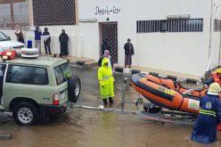 أمطار عسير: وفاة طفل وإنقاذ 238 محتجزاً