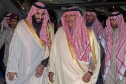 ولي العهد يصل إلى الرياض قادما من خارج المملكة