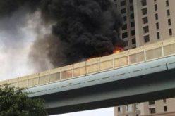 الصين تعاقب 11مسؤولاً بسبب حريق في حافلة