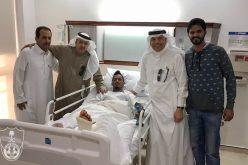 """""""عواجي"""" إلى الدوحة لعرض إصابته في """"سبيتار"""""""