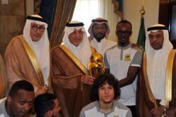 خالد الفيصل يستقبل رئيس وأعضاء مجلس إدارة نادي الاتحاد