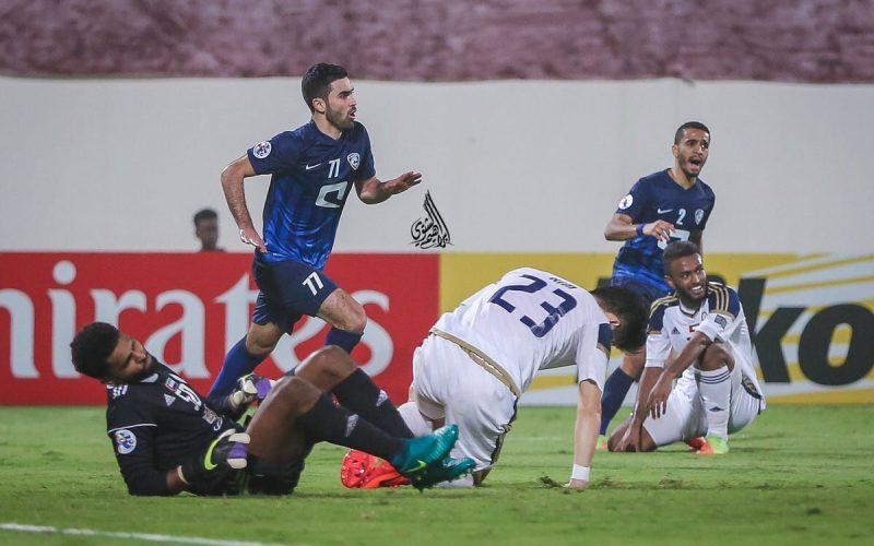 الهلال بـ10 لاعبين يخطف نقطة من الوحدة الإماراتي