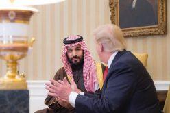 الرئيس الأمريكي ترامب يستقبل سمو ولي ولي العهد
