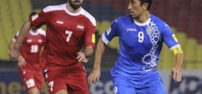 سوريا تنعش آمالها في التأهل للمونديال بهدف قاتل