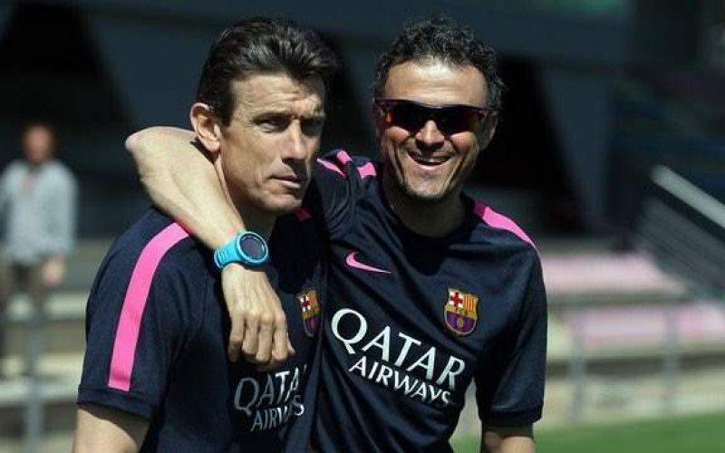 ترشيح اونزوي لخلافة انريكي يحظى بتأييد لاعبي برشلونة