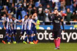 """صفعة ديبورتيفو توقظ برشلونة من """"الحلم"""""""
