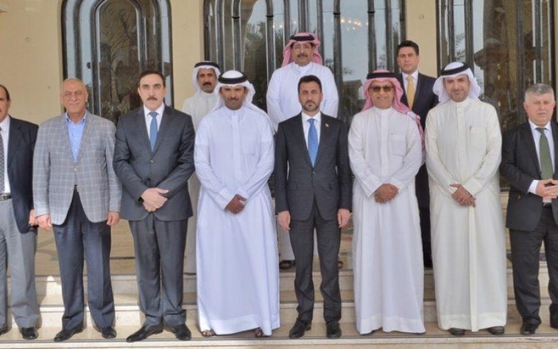 """سلمان آل خليفة يجدد مساندة """"الآسيوي"""" لرفع الحظر الدولي عن العراق"""