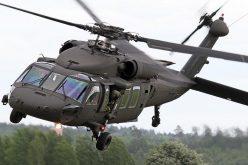 سقوط طائرة عمودية تابعة للقوات المسلحة في الأراضي اليمنية