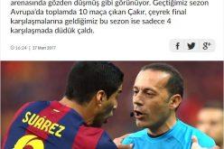 الصحافة التركية تهاجم حكم مباراة الهلال والأهلي وتصف مستوياته بالمتواضعة