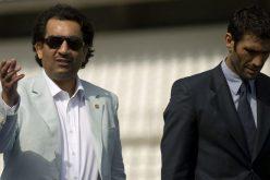 """برشلونة يتوعد الشيخ عبد الله آل ثاني بعد تغريدته عن """"حثالة كتالونية"""""""
