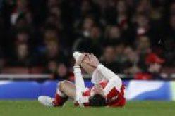 شكوك حول مشاركة كوسيلني في مباراة أرسنال وتوتنهام