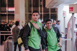 """""""قبضة"""" الأخضر الشاب تستقر في تونس لمواصلة برنامج الاعداد للمونديال"""
