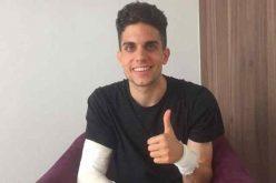 مدافع دورتموند المصاب في التفجيرات يغادر المستشفى