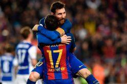 برشلونة يعبر ريال سوسيداد بصعوبة