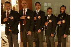 خمسة حكام سعوديين يجتازون التصنيف العالمي للكاراتية