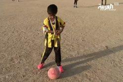 """أسطورة الاتحاد يتفاعل مع الطفل اليمني """" محمد نور """""""