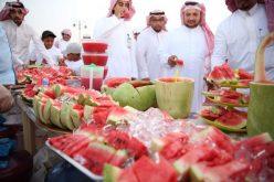 افتتاح مهرجان الحبحب الخامس بوادي الدواسر