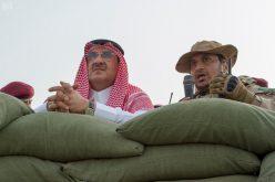 ولي العهد يرعى العرض العسكري لوحدات قوات الأمن الخاصة