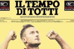 صحيفة إيطالية تغير اسمها تكريما للنجم توتي