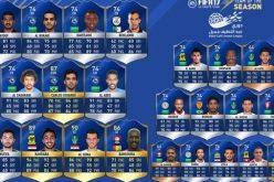 """7 من لاعبي الهلال في التشكيلة المثالية للعبة """"فيفا 2017"""""""