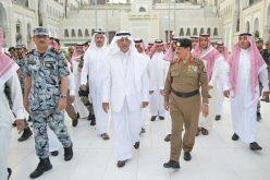 أمير مكة: لم نمنع أي مسلم من دخول المسجد الحرام