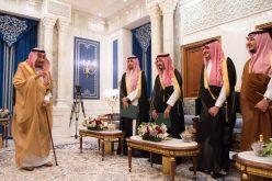 الأمراء الذين صدرت الأوامر الملكية بتعيينهم في مناصبهم الجديدة يؤدون القسم