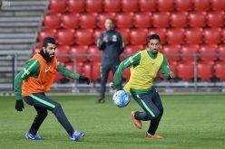 المنتخب السعودي يواصل استعداداته لمواجهة استراليا في تصفيات كأس العالم