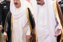 صباح الأحمد لخادم الحرمين: الكويت تقف الى جانب المملكة وتؤيدها بكل ما تتخذه من اجراءات لمواجهة الأعمال الارهابية