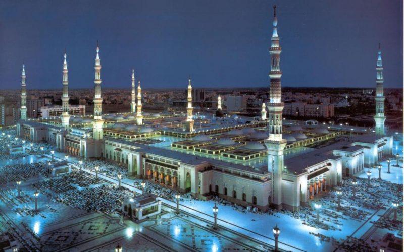 أكثر من 13 ألف معتكف في المسجد النبوي الشريف