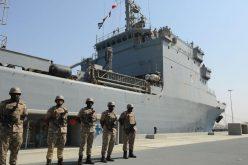 تحالف دعم الشرعية في اليمن : تعرض سفينة إماراتية لهجوم بصاروخ من زورق قبالة السواحل اليمنية