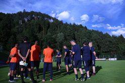 انطلاق معسكر الفيحاء بالنمسا