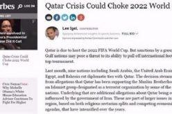 forbes : مونديال قطر 2022 مهدد
