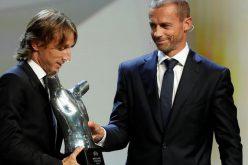 مودريتش يخطف جائزة أفضل لاعب في أوروبا