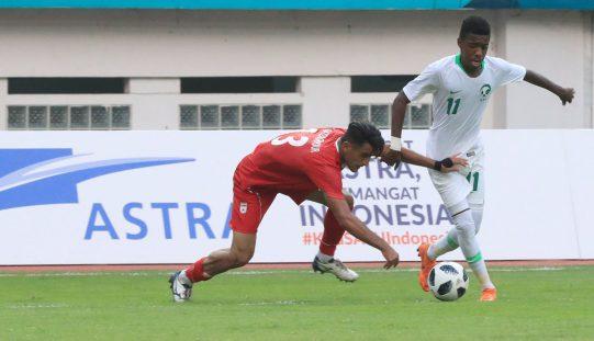 في الألعاب الآسيوية المنتخب السعودي الأولمبي يتعادل مع إيران