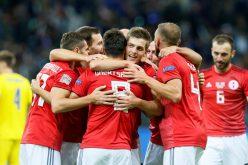 جورجيا تهزم كازاخستان في انطلاق دوري الأمم الأوروبية