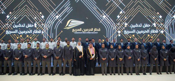الملك سلمان يدشن مشروع قطار الحرمين السريع