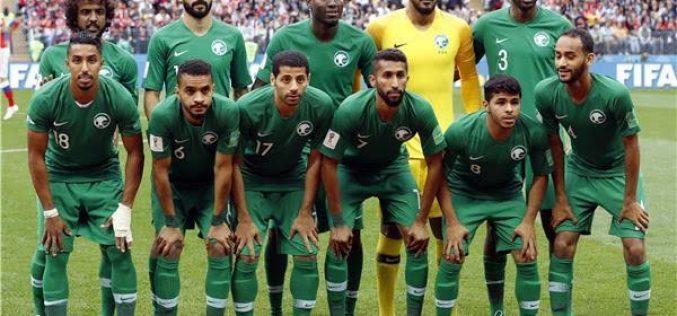 الاخضر أمام راقصي السامبا على ملعب الملك سعود