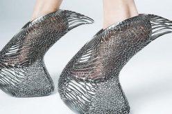 حذاء نسائي مطبوع بتقنية ثلاثية الأبعاد