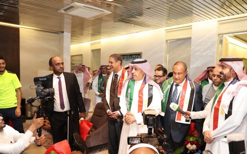 وسط حفاوة رسمية..بعثة الزمالك تصل الرياض