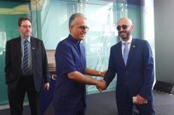 قصي الفواز يحضر افتتاح مبنى الاتحاد الآسيوي الجديد